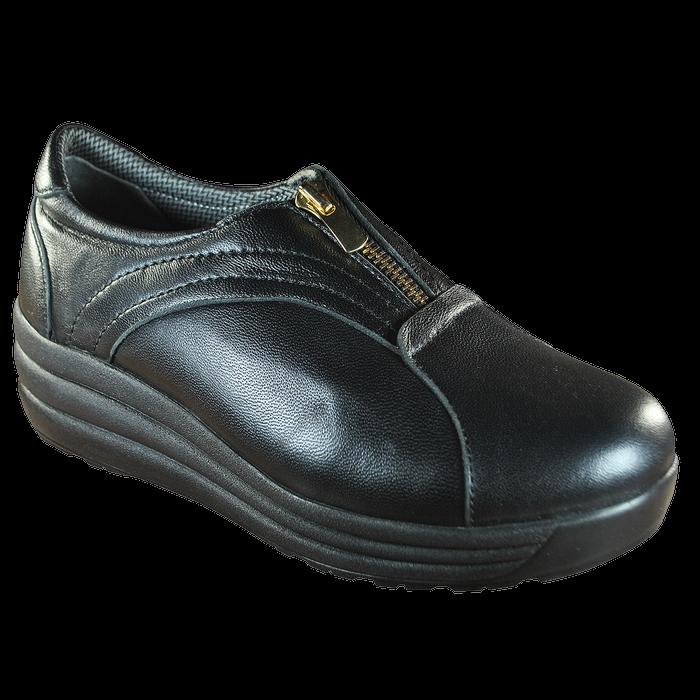 Женские ортопедические туфли 17-005, черный, 36