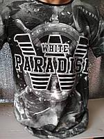 Мужская футболка двухсторонняя SEA KILLER Турция опт р. M, L, XL, XXL