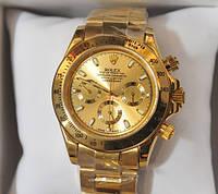 Часы мужские Rolex Daytona Gold механические. БЕЗ БРАКА!