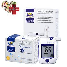 Глюкометр Bionime GM 300 + 50 тест-полосок