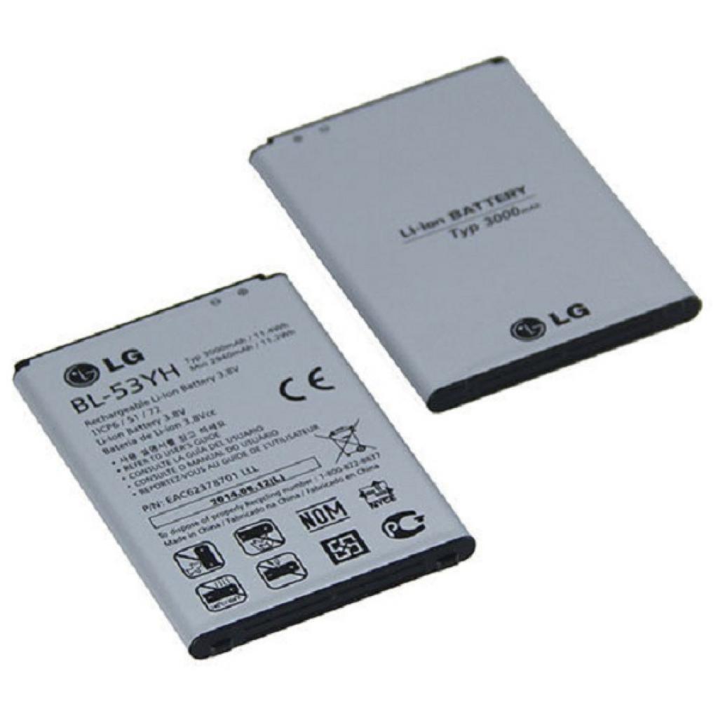 Аккумуляторная батарея LG for G3/D855 (BL-53YH / 31001)