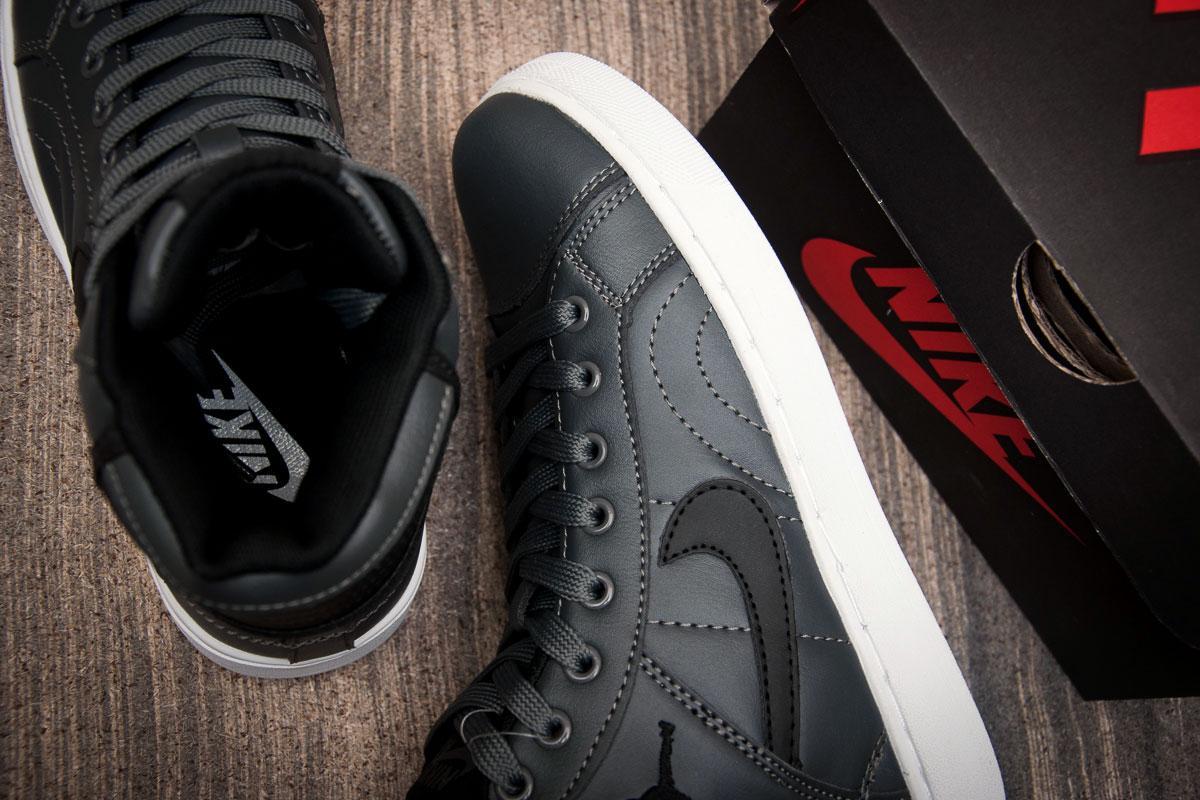 22cdb934 ... Кроссовки женские в стиле Nike Air Jordan, серые (1067-1) [ 36 ...