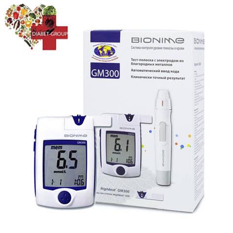 Глюкометр Bionime GM 300, фото 2