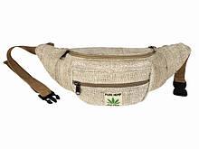 Поясная сумка ткань натуральная