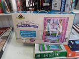 СКЛАДНОЙ КАРКАСНЫЙ ТКАНЕВЫЙ ШКАФ HCX STORAGE WARDROBE YQF130-14A НА 3 СЕКЦИИ, фото 2