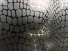 Пакет подарочный Крокодил черный  32x26, фото 3