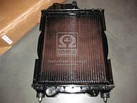 Радиатор водяного  охлаждения  МТЗ с двигатель  Д-240 (4-х рядный  ) медн.