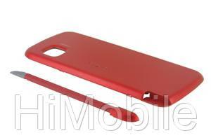 Задняя крышка для Nokia 5228 / 5230 красная High Copy