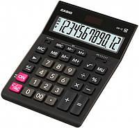 Калькулятор Casio 12 разрядный Черный