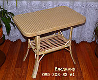 Стол из лозы, фото 1
