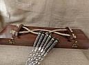 """Подарочный набор шампуров с бронзовыми ручками """"Дикие звери """" в кейсе из натурального дерева, фото 4"""
