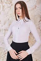 Классическая желая женская рубашка