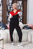 Костюм спортивный женский из дайвинга комбинированый (К26639), фото 1