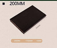 Гофрозащита для станка, гофрированная шторка 200 мм. Защита направляющих и ШВП., фото 1