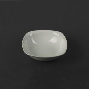 Салатник квадратний фарфоровий HLS 300 мл (HR1255)