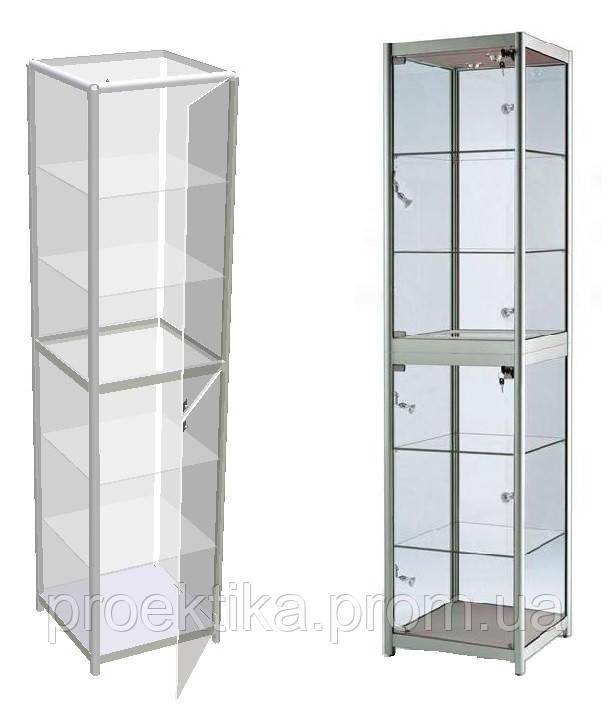 Стеклянные витрины для косметики в салон. Мебель для салона