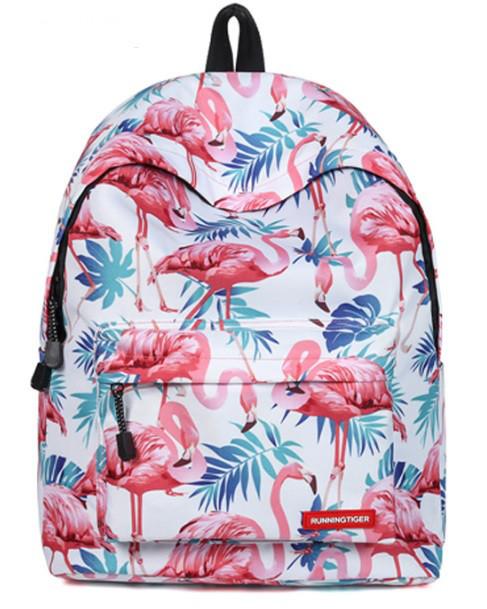 Рюкзак с фламинго