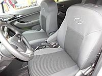 Чехлы в салон Шевроле Авео - Чехлы для сидений Chevrolet Aveo hatchback 2002 - 2011 Оригинальные
