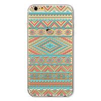 Накладка для iPhone 6/6s силікон 0,3mm Infinity Slim Glamour Кольоровий орнамент, фото 1
