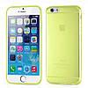 Накладка для iPhone 6/6s силікон 0,3mm Infinity Slim Прозорий/Жовтий