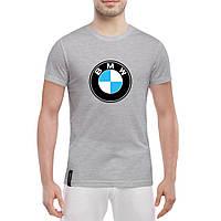 Футболка с печатью принта BMW, фото 1