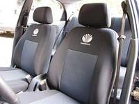 Чехлы в салон Дэу Нексия - Чехлы для сидений Daewoo Nexia (с горбами) 1996- Оригинальные Premium