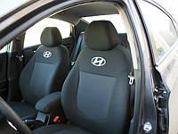 Чехлы в салон Хундай Акцент - Чехлы для сидений Hyundai Accent 2005 - 2010 Оригинальные Premium