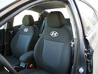 Чехлы в салон Хундай Акцент - Чехлы для сидений Hyundai Accent New 2011 - Оригинальные Premium