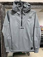Женская серая спортивная кофта  Nike, фото 1