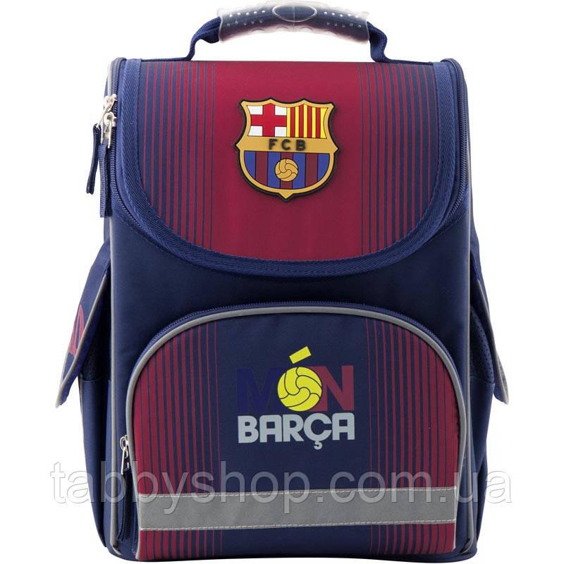 Ранец ортопедический каркасный KITE Education 501 FC Barcelona