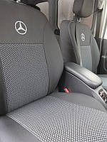 Чехлы в салон Мерседес Спринтер - Чехлы для сидений Mercedes Sprinter 1995 - 2006 Оригинальные Premium