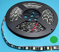 Светодиодная LED лента 50/50 зеленый цвет