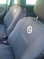 Чехлы в салон Ниссан Алмера - Чехлы для сидений Nissan Almera classic B10 (подголовники) 2006 - Оригинальные