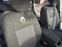 Чехлы в салон Рено Кенго - Чехлы для сидений Renault Kangoo Lux 98 1998 - 2008 Оригинальные Premium