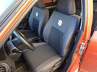 Чехлы в салон Сузуки СХ4 - Чехлы для сидений Suzuki SX4 2014 - Оригинальные Premium