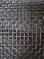 Сетка тканая из нержавеющей проволоки, Ячейка 5,0мм, Проволока 1,2мм,  Ширина 1м