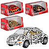 Машинка KT 5062 W інерц., мет., 1:32, 4 види, кор., 16-7,5-8 см