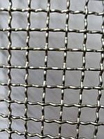 Сетка тканая из нержавеющей проволоки, Ячейка 8,0мм, Проволока 1,6мм,  Ширина 1м