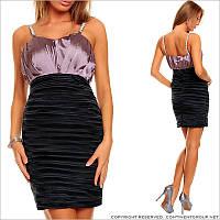 Вечернее платье с высокой талией