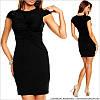 Деловое платье черное