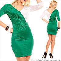 Платье с узкими рукавами