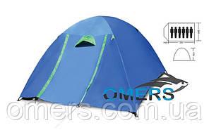 Палатка двухслойная туристическая Verus Макси Кокон + навес