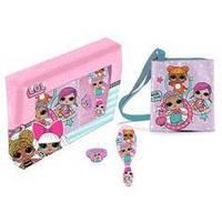 Детская сумочка ЛОЛ + аксессуары расческа, резиночка куклы ЛОЛ LOL