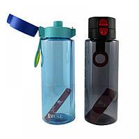 Бутылочка для воды в чехле c силиконовой крышкой и дозатором MUSE