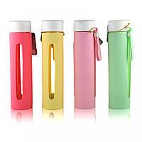 Бутылочка для воды в силиконовой защите Sopin in style