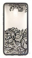 Накладка для Samsung Galaxy J330 J3 2017 Rock Tatoo Art Case Fantasy Flowers