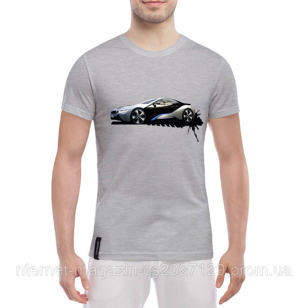 Яркие стильные футболки принт BMW