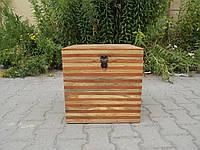 Indyjska drewniana skrzynia/kufer