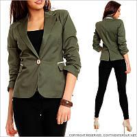 Женский пиджак приталенный