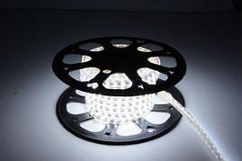Светодиодная лента 5050-60 220V 14Вт/м IP67 Холодно-белая